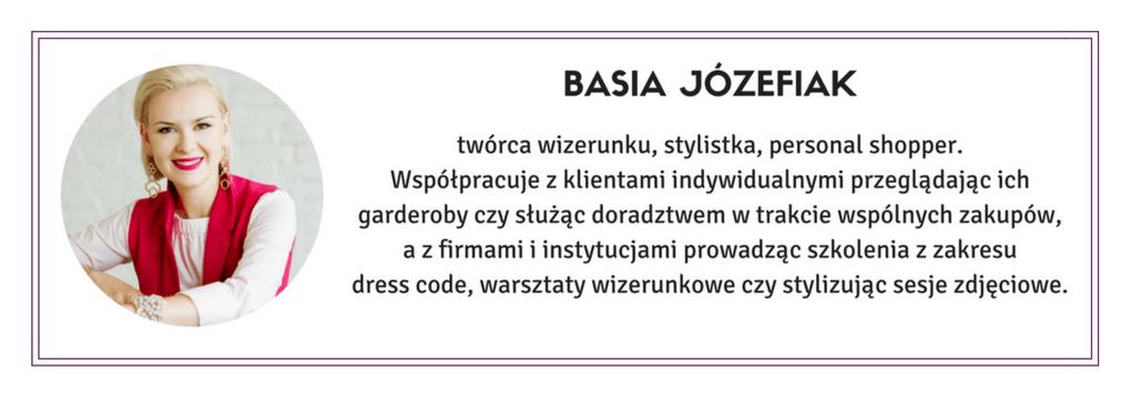 Basia Józefiak - Stylista Poznań