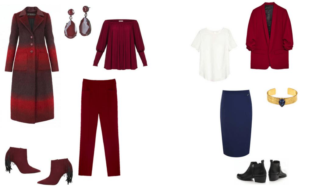płaszcz Chaos by Marta Boliglova, kolczyki Orska, bluzka Est by Es., spodnie Zara, buty Gino Rossi