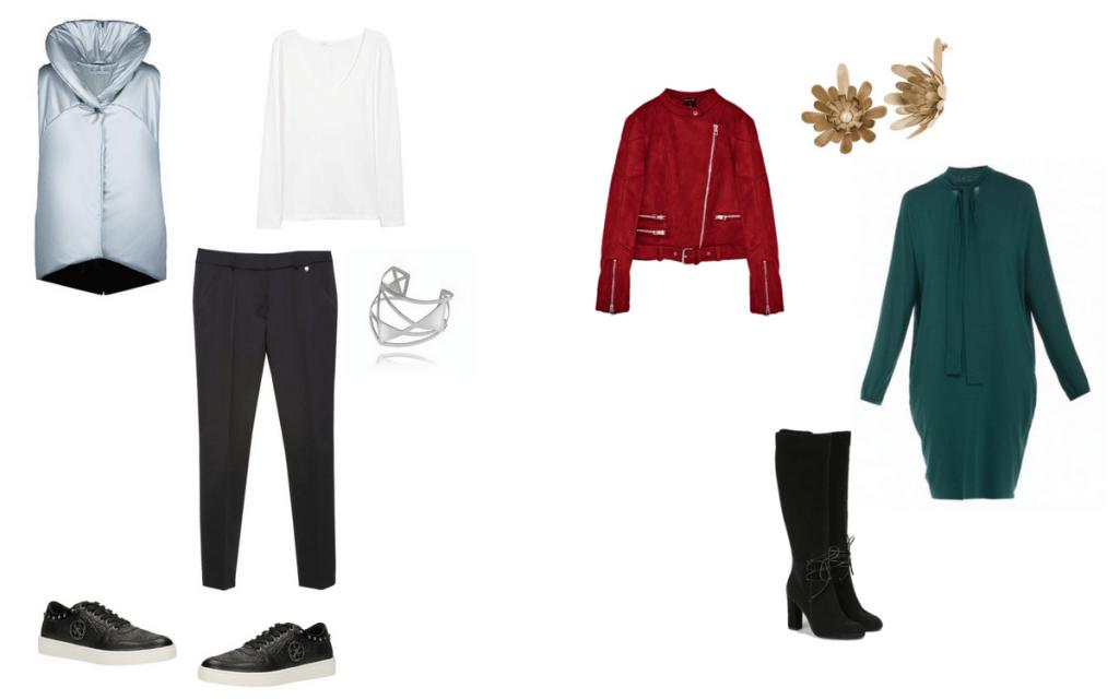 marynarka Zara, bluzka H&M, spódnica Pretty One, bransoletka 10decoart, buty Baldowski/mostrami.pl