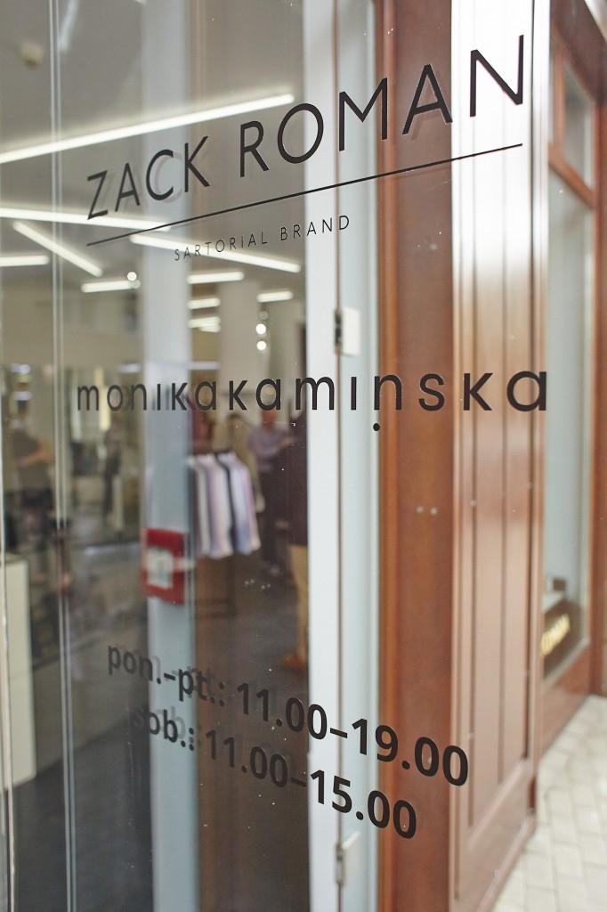 Drzwi wejściowe Zack Roman Monika Kamińska